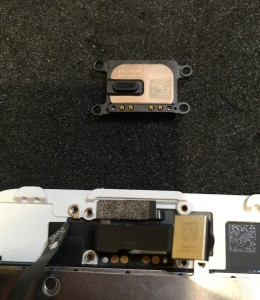 iPhone7イヤスピーカー